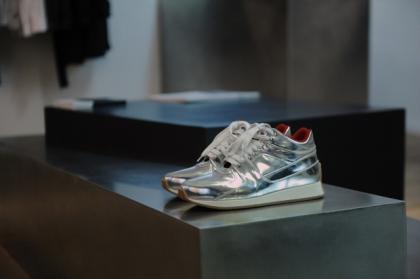 Kris-Van-Assche-Metallic-Sneakers