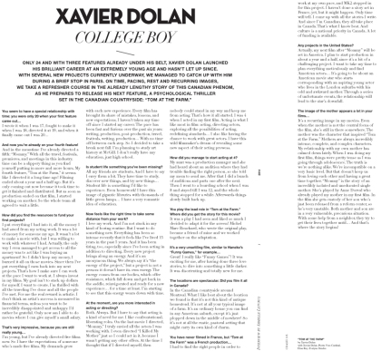 Shooting Xavier Dolan-3